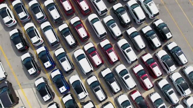Harbour Car Park aerial view video