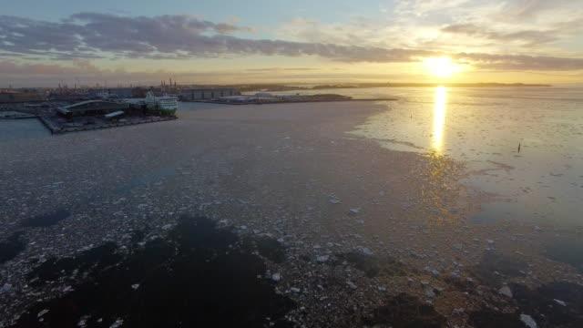 hamnen i helsingfors - drone helsinki bildbanksvideor och videomaterial från bakom kulisserna