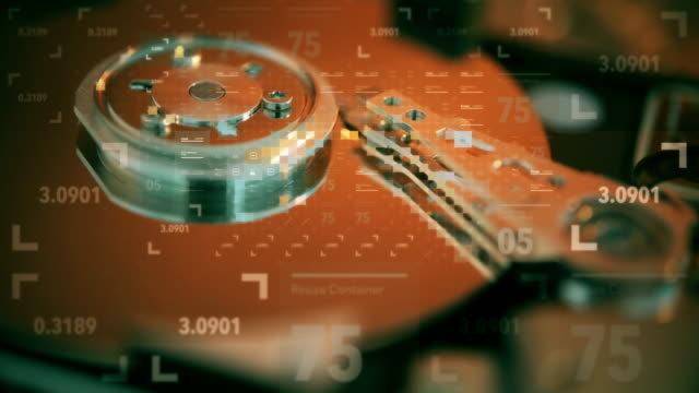 Hard disk drive failure 4k prores video of Hard disk drive failure backup stock videos & royalty-free footage
