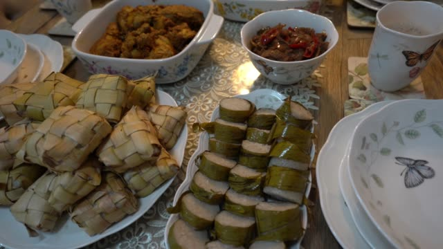 hari raya yemekleri - kurban bayramı stok videoları ve detay görüntü çekimi