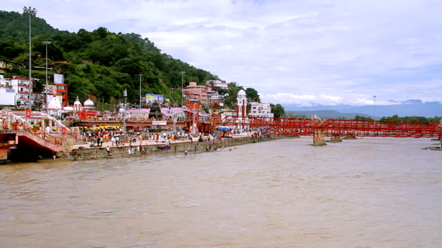 haridwar hd - pilgrimsfärd bildbanksvideor och videomaterial från bakom kulisserna
