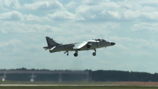 Harrier Jump Jet Landing video