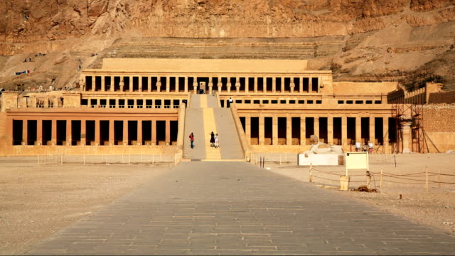 Hatshepsut's Temple in Luxor Egypt video