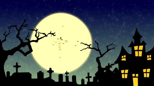 haunted mansion - halloween stock-videos und b-roll-filmmaterial