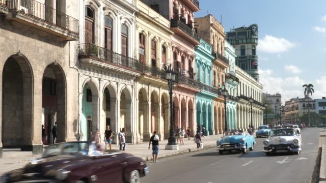 Havana cars in the City Center video