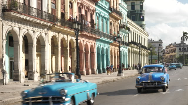 Havanna cars in the City video