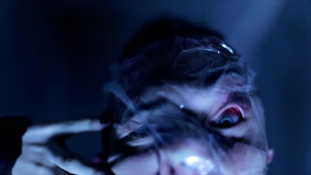 Having a nightmare – film
