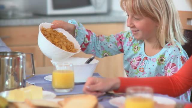 HD DOLLY: Having Breakfast video