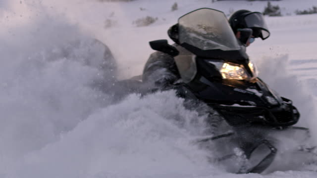 Best Snowmobile Stock Videos and Royalty-Free Footage - iStock