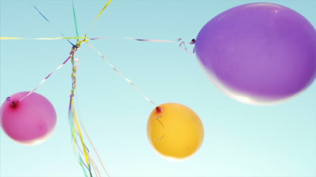 Having fun with balloons. video