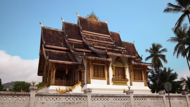 Haw Pha Bang Königlicher Tempel Luang Prabang Laos – Video