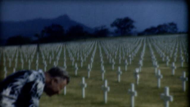 Hawaii Cemetery 1940's. video