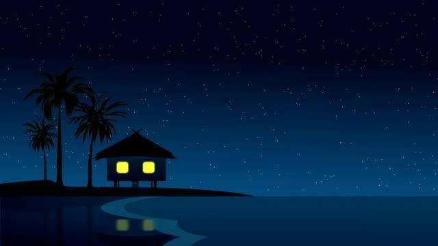 Hawaii Traum. Bei Nacht – Video