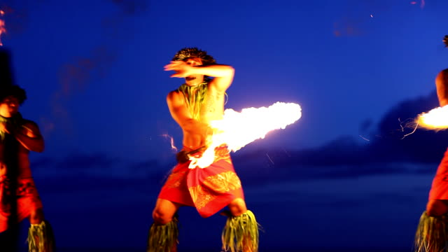 Hawaii Maui Fire Dancer- HD montage video