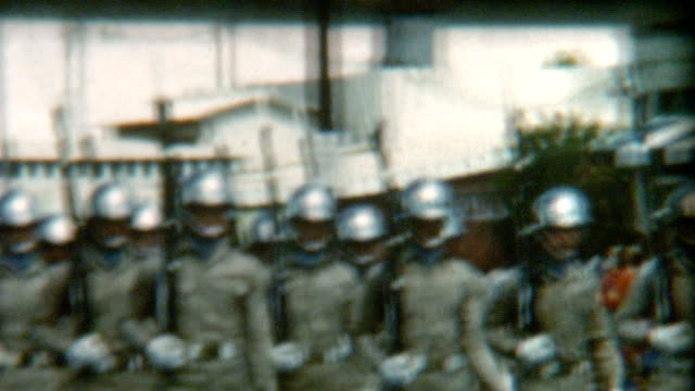 Hawaii Military Police Parade 1950's video