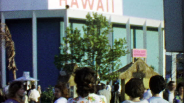 1964: Hawaii state building at EXPO New York World's Fair.