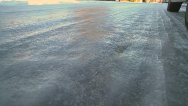 Hazardous Winter Road Conditions 4K UHD