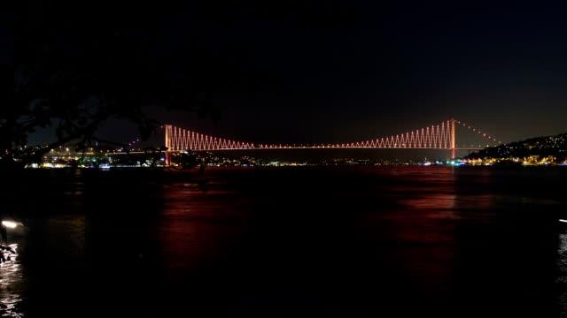 HD:Bosphorus Bridge. **Time Lapse**