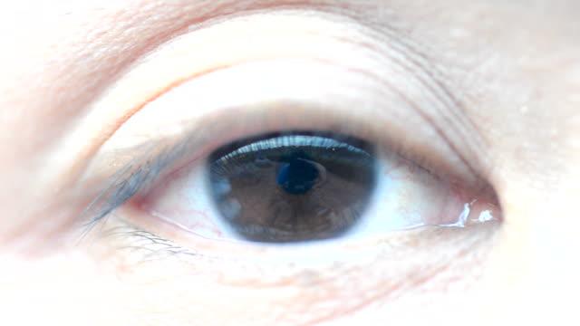 HD:Close-up Human eye video