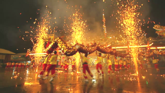 HD:Dragon Dance. Dragon Dance. chinese new year stock videos & royalty-free footage
