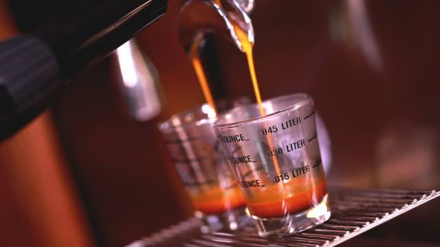 HD:Espresso Coffee making. video
