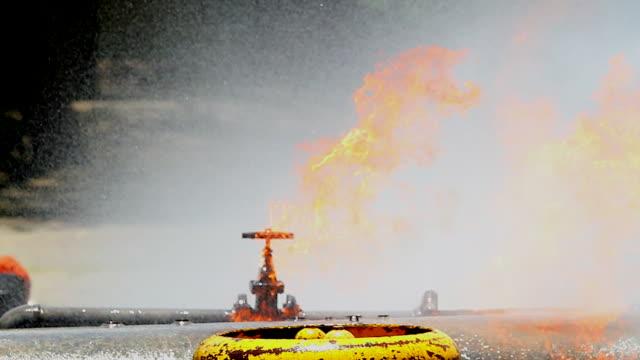 HD:Gas leak on Pipe Flange. video
