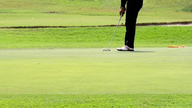 HD:Golf putt video