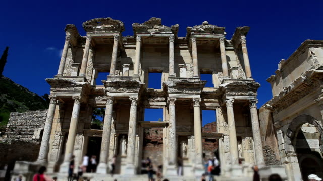 HD:Library of Celsus,TURKEY video