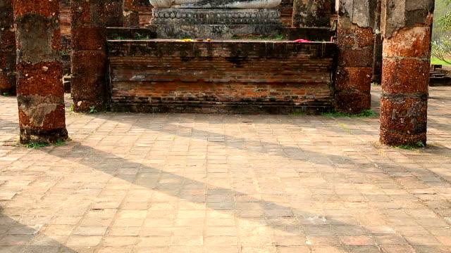 HD:Sukhothai historical park, World Heritage in thailand. video