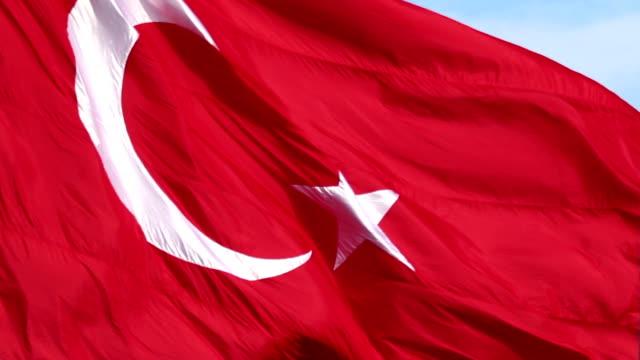 HD:Turkish Flag video
