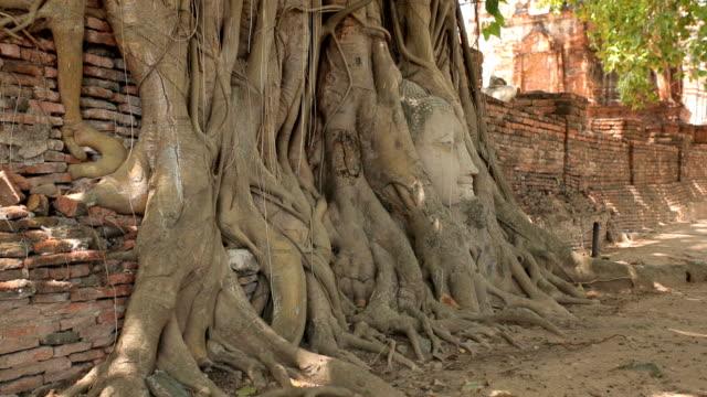 Head of Sandstone Buddha