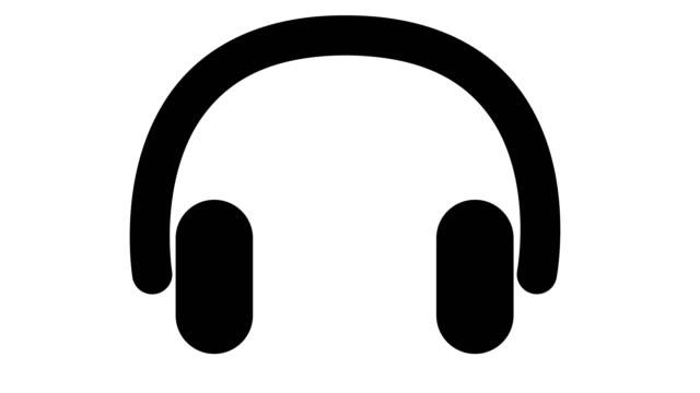 アニメーションの頭電話 - アイコン点の映像素材/bロール