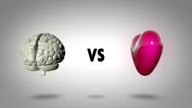 Head versus heart - logic versus emotion video