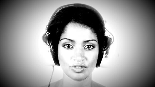 headphones girl video