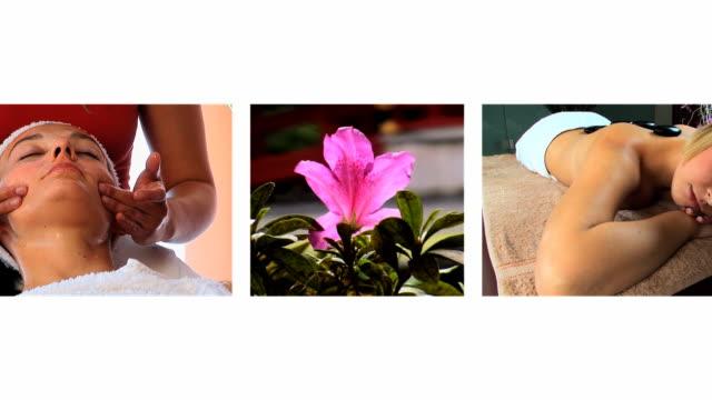 montage & de salud Spa de belleza - vídeo