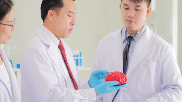 Health care researchers and working in life science laboratory.Education Topics