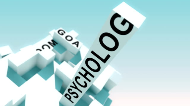 Health Coaching Intelligence Words Animated With Cubes video
