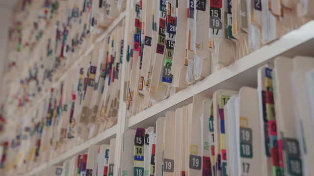Health insurance folders in archive files