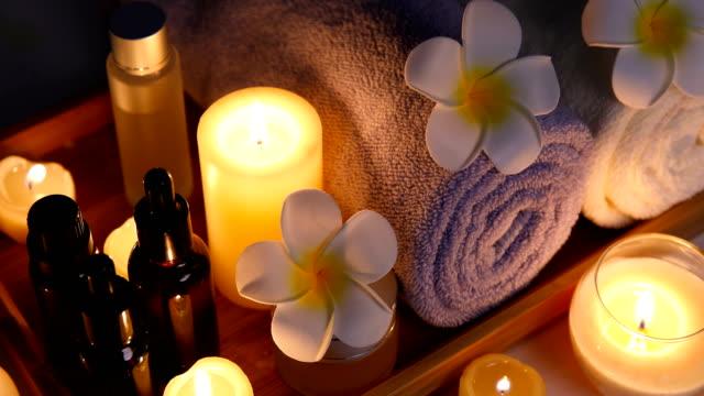 vídeos de stock, filmes e b-roll de health spa - aromaterapia