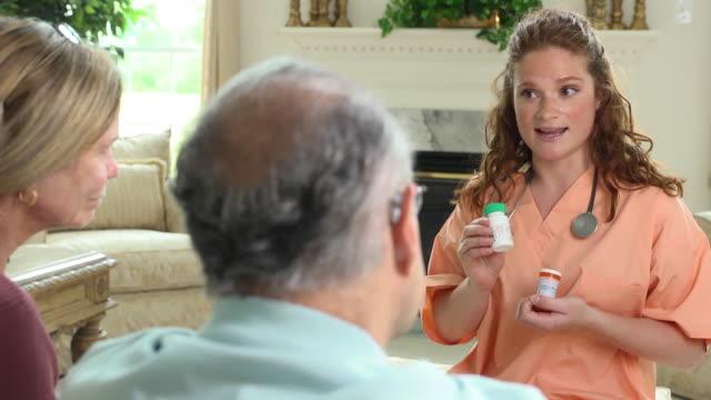 Healthcare Professional Explaining Prescription Dosages video