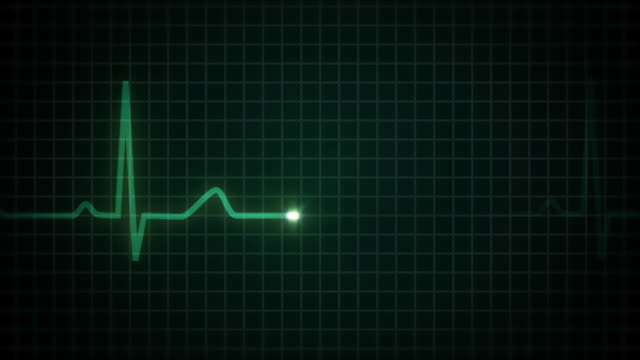Healthy Heart HD (With Audio, Loopable)  pulse trace stock videos & royalty-free footage