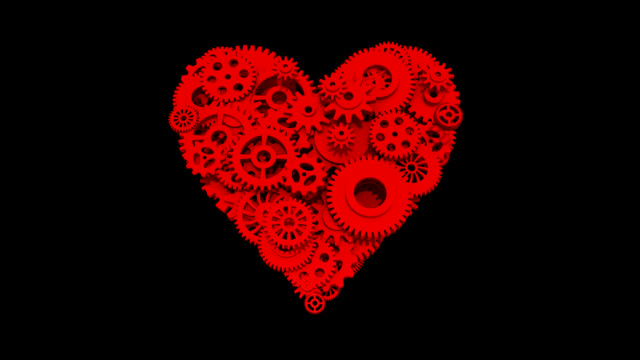 Heart and Gear Wheels (Loop, Alpha) video