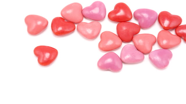 heart candy multiply, stop motion animation - valentines day stock videos and b-roll footage