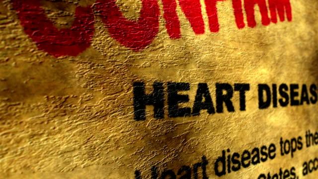 vídeos de stock, filmes e b-roll de confirmar a doença cardíaca - validação
