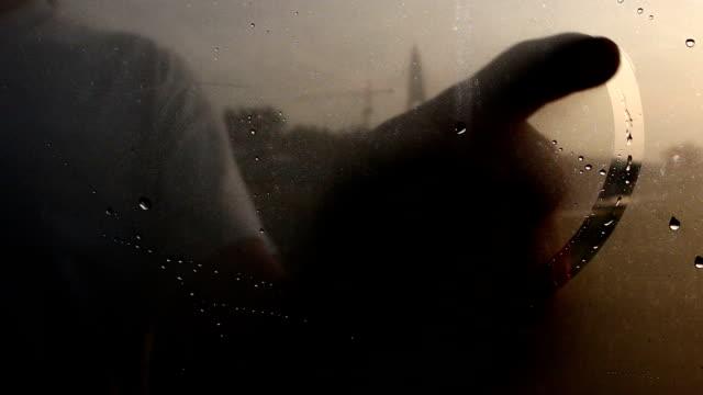ウィンドウに描画の心 - 心臓点の映像素材/bロール