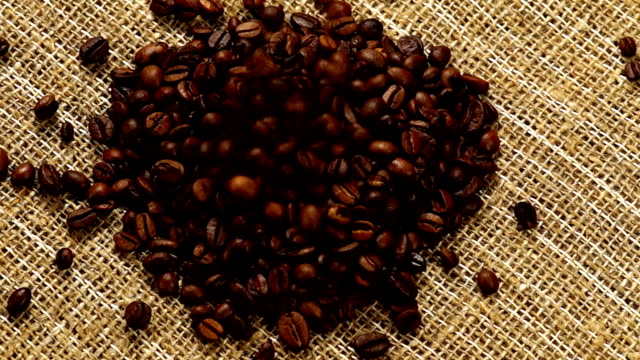 Heart From Coffee Beans video