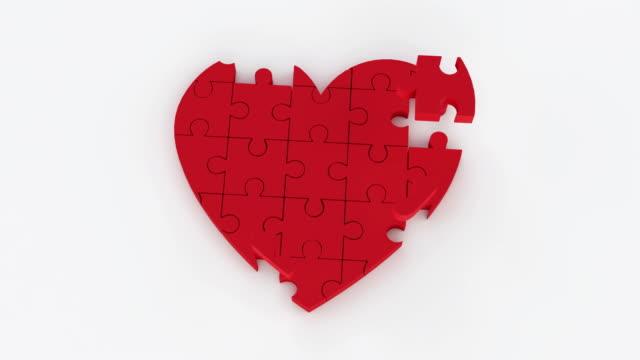 heart jigsaw video