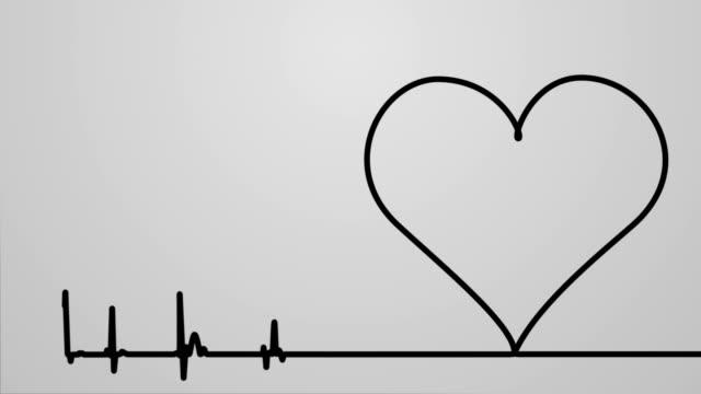 vídeos y material grabado en eventos de stock de monitor cardiaco - heart