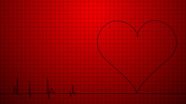 Heart Monitor Pulse Trace, Dead, Graph, Dead Person, Human Heart cardiologist stock videos & royalty-free footage