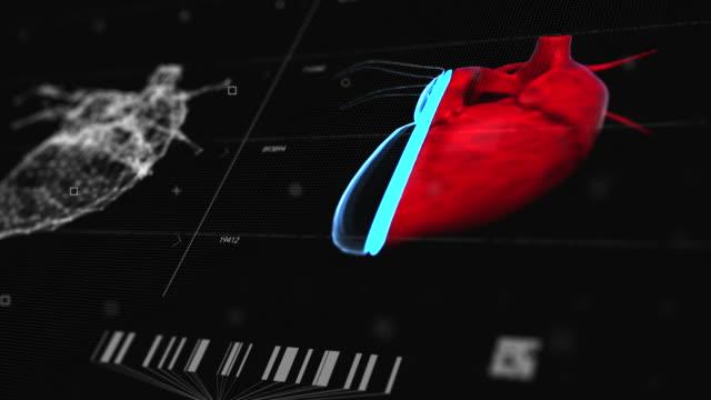 vídeos de stock, filmes e b-roll de tomografia tecnológica de ressonância magnética cardíaca - marcapasso cirurgia cardíaca